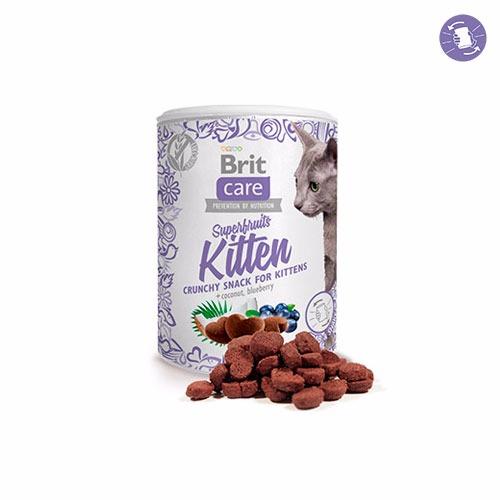 Brit Care Cat Snack Superfruits Kitten 100 gr