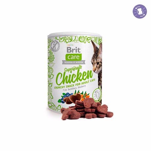 Brit Care Cat Snack Superfruits Salmón 100 gr