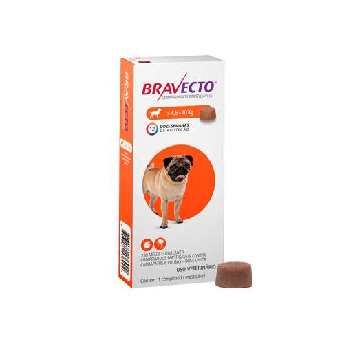 Bravecto 4.5 a 10 Kg