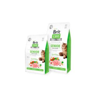 Brit Care Cat Senior Weight Control 7kg