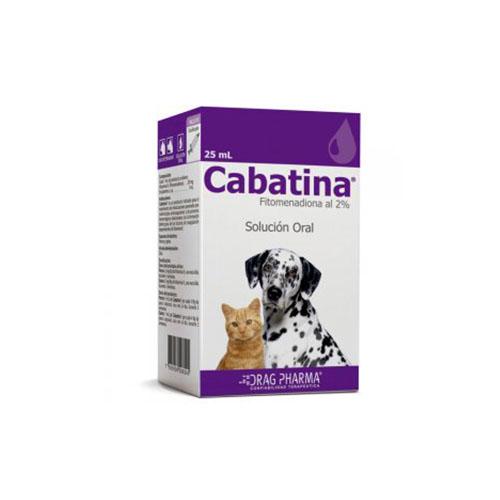 Cabatina® Solución Oral 25ml