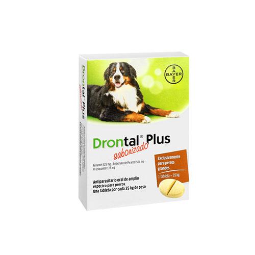 Drontal® Plus Saborizado hasta 35kg