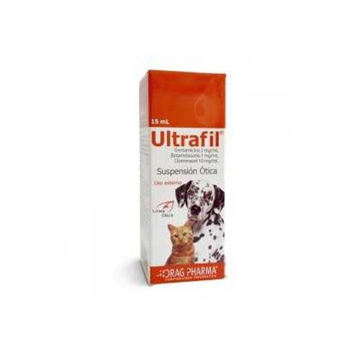 ULTRAFIL® Suspensión Ótica 15 ml