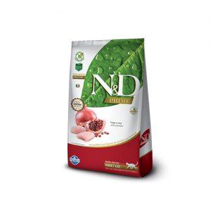 N&D Grain Free Felino Adulto Pollo y Granadas 1.5kg