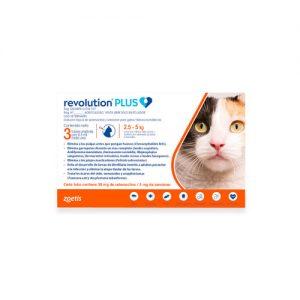 Revolution Plus gatos de 2.5 a 5 kg