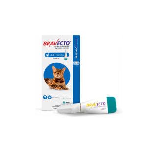 Bravecto 250 mg Gato 2,8 kg a 6,25 kg
