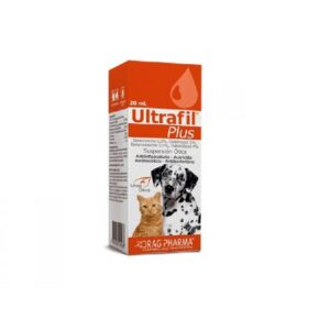 ULTRAFIL® PLUS Suspensión Ótica 20 ml